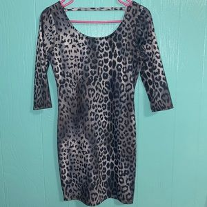 3/4 Sleeve Bodycon Dress